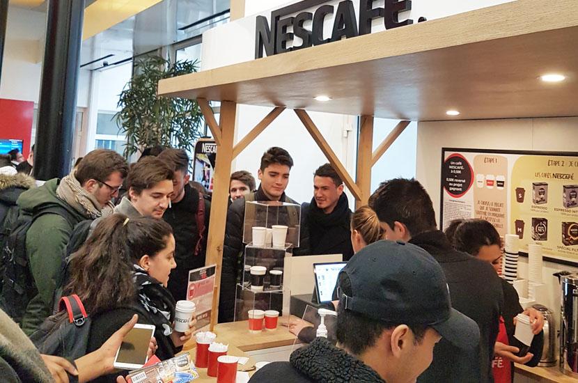 nescafé - Keemia Shopper - l'agence de marketing d'activation shopper phygitale