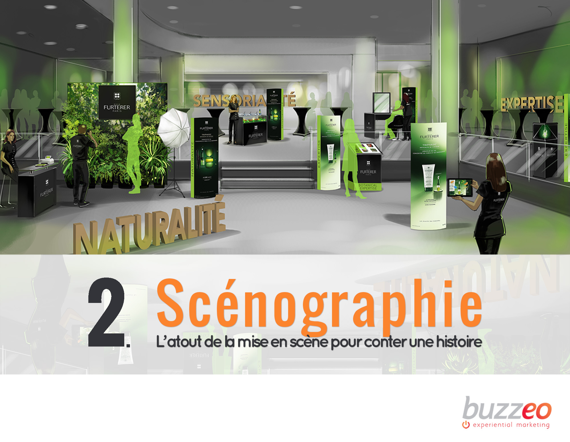 scenographie - Keemia Shopper - l'agence de marketing d'activation shopper phygital
