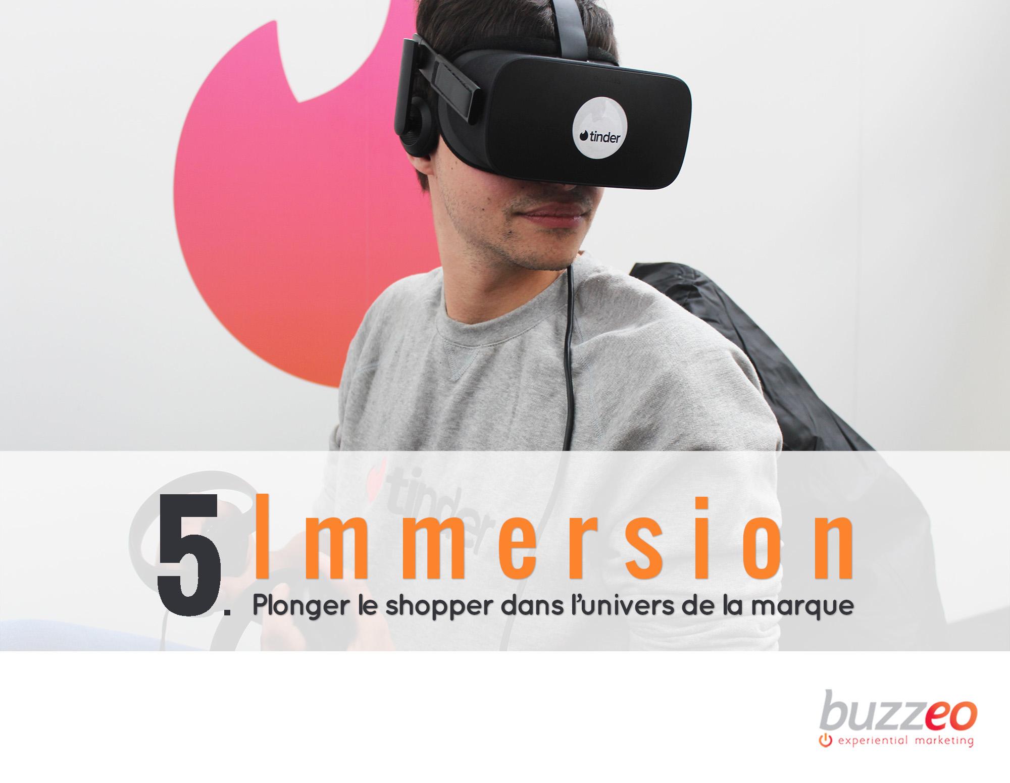 immersion - Keemia Shopper - l'agence de marketing d'activation shopper phygital