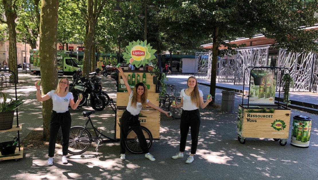 Lipton Green - Keemia Shopper Marketing - Agence d'activation shopper marketing phygitale