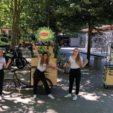 Lipton Green - Keemia Shopper Marketing - Agence d'activation shopper marketing phygitale