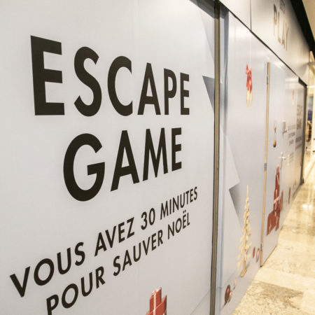 Animation Escape Game pour centre commercial Beaulieu - Keemia Shopper Marketing - Agence d'activation shopper marketing phygitale