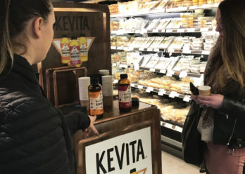 Kevita lance son circuit proxi pour faire découvrir ses produits - Keemia Shopper Marketing - Agence d'activation shopper marketing phygitale