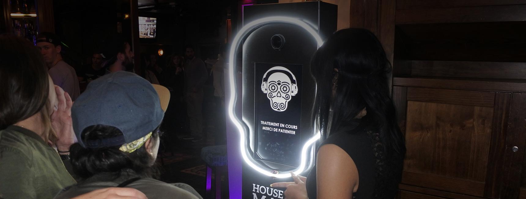 Animations soirées house of mask avec Cubanisto - Keemia Shopper Marketing - Agence d'activation shopper marketing phygitale