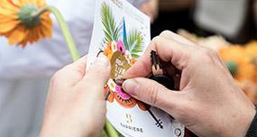 Le Casino Barriere de Lille crée l'évènement avec des Bike'com pendant les flowers weeks mobile - Keemia Shopper Marketing - Agence d'activation shopper marketing phygitale