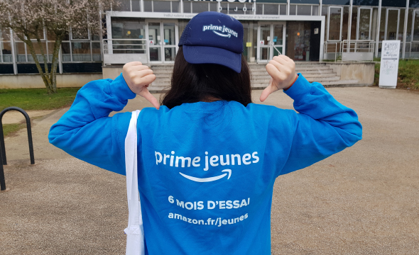 Amazon -Programme Ambassadeur - Keemia Campus Agence d'activation campus marketing phygitale