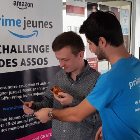 Amazon -Programme Ambassadeur - Keemia Campus Agence d'activation campus marketing phygitale