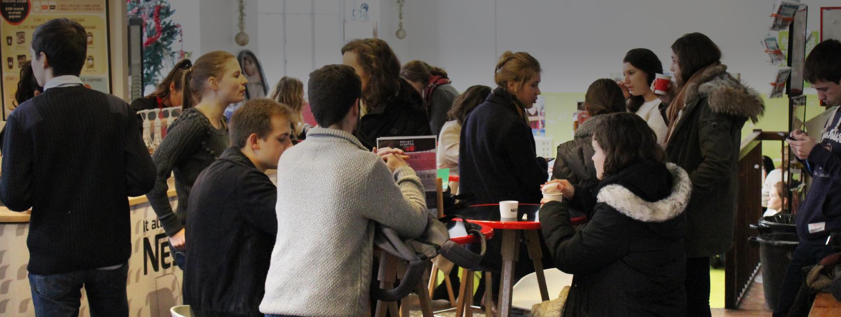 Nescafé - activation experientielle- Keemia Campus Agence marketing experientiel