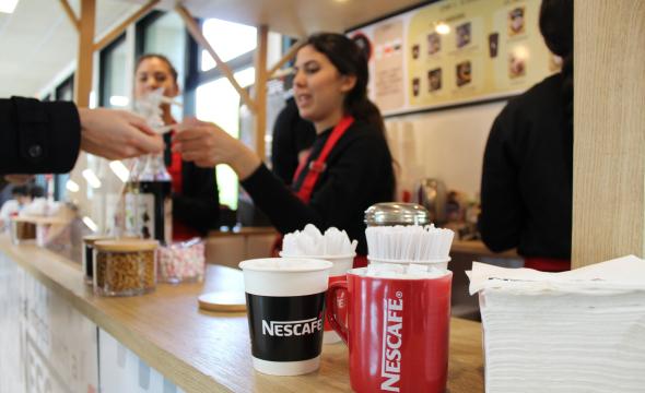 Nescafé - activation experientielle - Keemia Campus Agence marketing experientiel