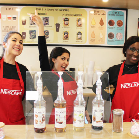 Nescafé - activation experientielle - Keemia Campus Agence marketing experientiel