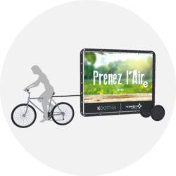 Offre Vinci Autoroutes - bike'com - Keemia Shopper Marketing - Agence d'activation shopper marketing phygitale