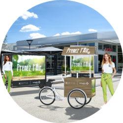 Offre Vinci Autoroutes - kit - Keemia Shopper Marketing - Agence d'activation shopper marketing phygitale