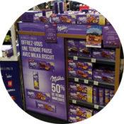 Offre Vinci Autoroutes - Milka - Keemia Shopper Marketing - Agence d'activation shopper marketing phygitale