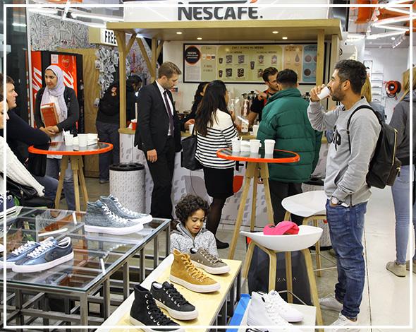 Xpop Pop up Store Nescafé- Keemia Shopper Marketing Agence d'activation shopper marketing phygitale