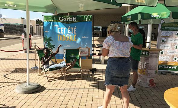 Activation Foodtruck Garbit - Keemia Shopper Marketing