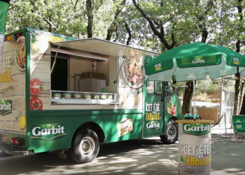 Activation Foodtruck Garbit - Keemia Shopper Marketing