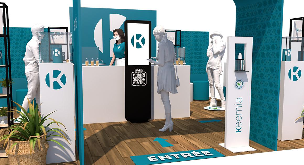 conseil activation shopper instore période de covid - - Keemia Agence marketing local
