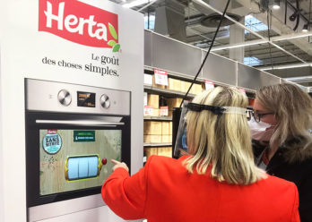 Opération HERTA conseil activation shopper instore période de covid - - Keemia Shopper Marketing agence d'activation shopper marketing phygitale