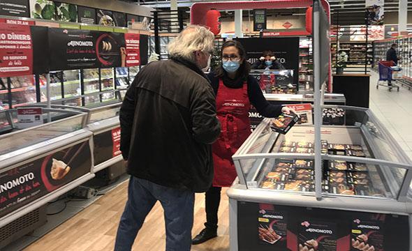 Shop in shop animations point de vente anijomoto - keemia shopper agence marketing activation shopper phygitale