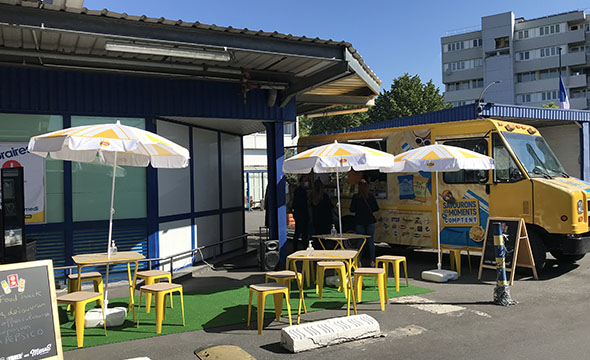 FoodTrcuk Pepsico - Keemia Shopper agence de marketing d'activation shopper phygitale