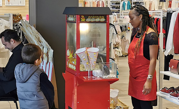 La Halle - Keemia Shopper agence de marketing d'activation shopper phygitale