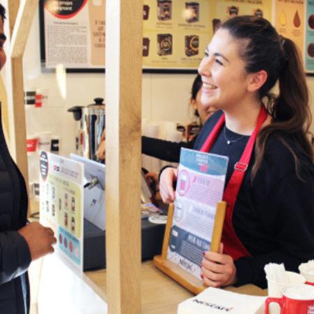 Nescafé Campus - Keemia shopper agence d'activation marketing