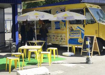 Animation Food Truck Pepsico avec Keemia Shopper agence de marketing d'activation shopper phygitale