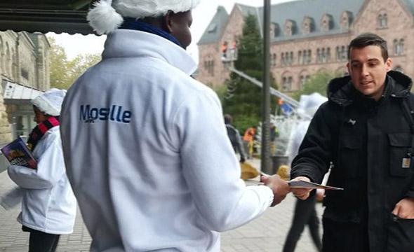 Moselle Infos street marketing Keemia Strasbourg Agence marketing local en région Grand-Est