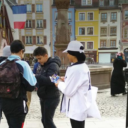 CCI Campus Alsace street marketing affichage mobile Keemia Strasbourg Agence marketing local en région Grand Est