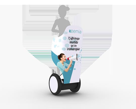 Segway, la visibilité ultra mobile - Keemia Strasbourg Agence marketing local en région Grand-Est