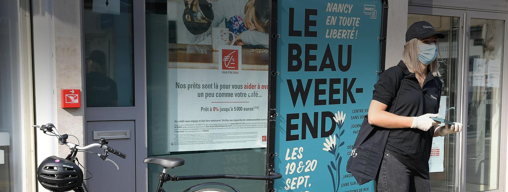 """Bike com ville de nancy """"beau week-end""""Keemia Strasbourg agence de marketing locale de référence de la Région Grand Est"""