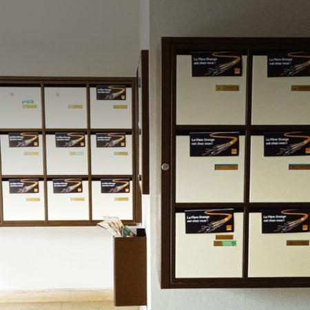 Orange- Distribution, dépôt et publipostage - Keemia Strasbourg Agence marketing local en région Grand-Est