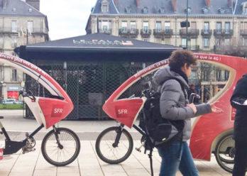 SFR Affichage mobile street marketing Keemia Toulouse Agence marketing local en région Occitanie