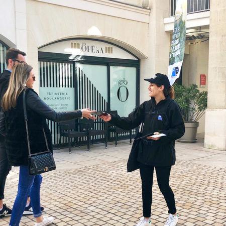 Technal street marketing Keemia Toulouse Agence marketing local en région Occitanie