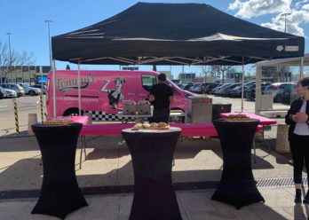 tommy's diner en street marketing keemia Toulouse agence marketing local en région occitanie