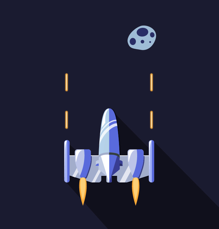 Space Shooter - Keemia Toulouse - Agence de Marketing Locale en région Occitanie
