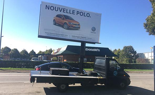 Auto21 affichage digital affiled Keemia Tours Agence marketing local en région Centre Normandie