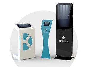 Bornes interactives - Solutions interactives - Keemia Tours Agence marketing local en région Centre Normandie