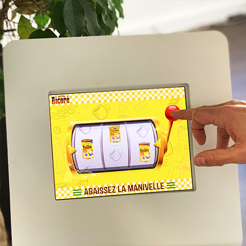 Instant Win - Solutions interactives - Keemia Tours Agence marketing local en région Centre Normandie