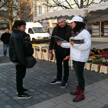 journal l'épicentre street marketing keemia agence marketing locale en région nord