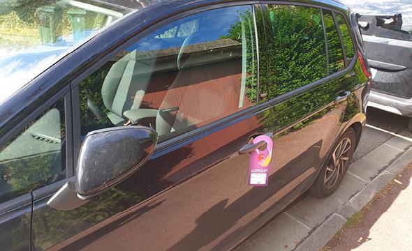 sfr téléphonie affichage mobile street marketing sac a pain kemia tours agence marketing locale en region centre normandie