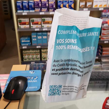 Support tactique pour le Crédit Agricole - Keemia Tours agence de marketing locale de référence en région Normandie