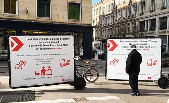 chage mobile - sac a pain- Keemia Tours agence de marketing locale en région Centre Normandie