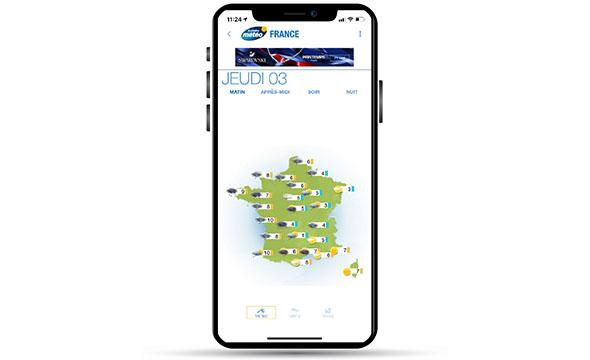 Display mobile avec Keemia Tours agence de marketing locale de référence en région normandie