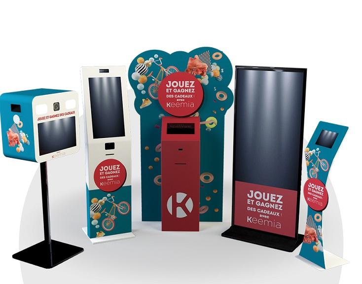 Location de bornes - Keemia Tours - Agence de Marketing locale en région Centre Normandie