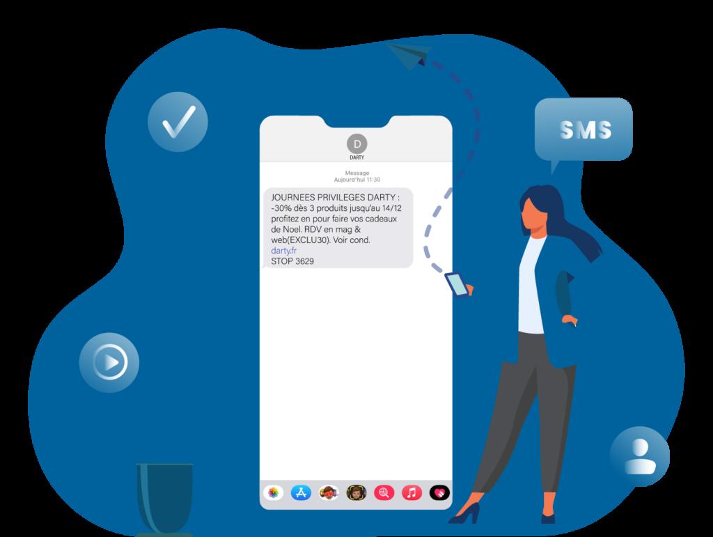 Offre SMS - Keemia Tours - Agence de Marketing Locale en région Centre Normandie