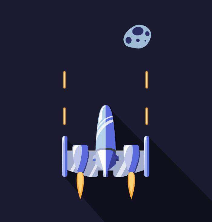 Space Shooter - Keemia Tours - Agence de Marketing Locale en région Centre Normandie