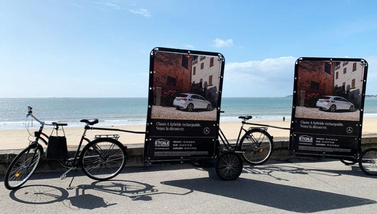 Street Marketing- Affichage Mobile - Groupe GMP - Keemia Tours - agence marketing de reference locale en region centre Normandie