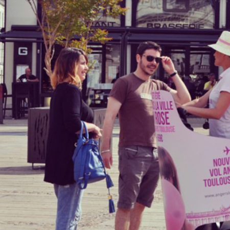 Toulouse-Angers en segway Vignette - Keemia Agence Hors média, Shopper Marketing, Evénementiel
