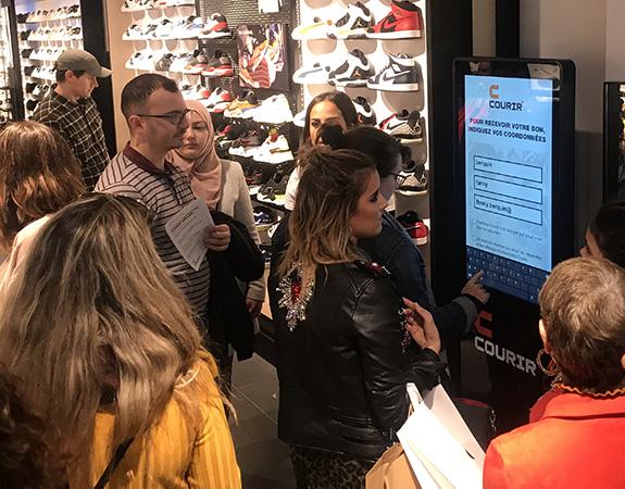 Courir - Keemia Agence Hors média, Shopper Marketing, Evénementiel